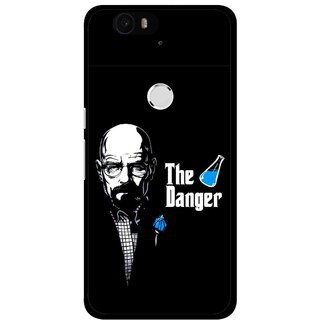 Snooky Printed The Danger Mobile Back Cover For Huawei Nexus 6P - Multi