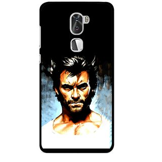 Snooky Printed Angry Man Mobile Back Cover For Coolpad Cool 1 - Multi