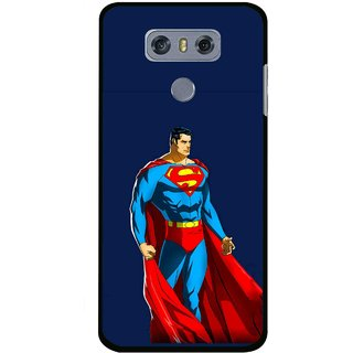 Snooky Printed Super Hero Mobile Back Cover For LG G6 - Multi