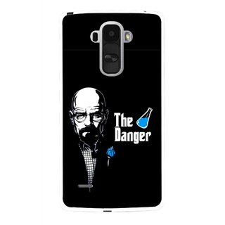 Snooky Printed The Danger Mobile Back Cover For Lg G4 Stylus - Multi