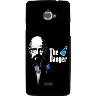 Snooky Printed The Danger Mobile Back Cover For Infocus M350 - Multi