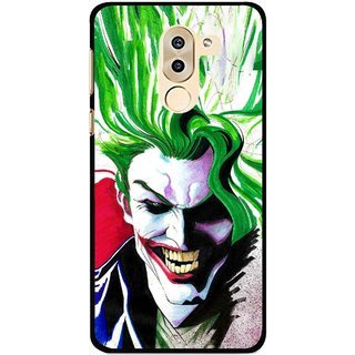 Snooky Printed Joker Mobile Back Cover For Huawei Honor 6X - Multi