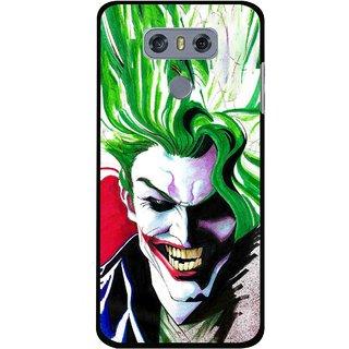 Snooky Printed Joker Mobile Back Cover For LG G6 - Multi