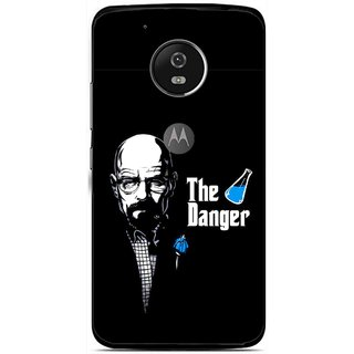 Snooky Printed The Danger Mobile Back Cover For Moto G5 - Multi