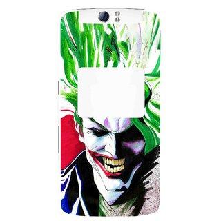 Snooky Printed Joker Mobile Back Cover For Oppo N1 - Multi