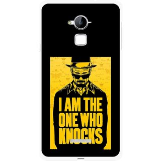 Snooky Printed Who Knocks Mobile Back Cover For Coolpad Note 3 - Multi