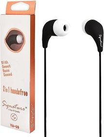 Signature Vm-59 For All Smart Phones Headphones