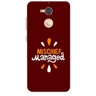 Snooky Printed Mischief Mobile Back Cover For Gionee S6 Pro - Multi