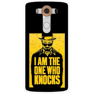 Snooky Printed Who Knocks Mobile Back Cover For Lg V10 - Multi