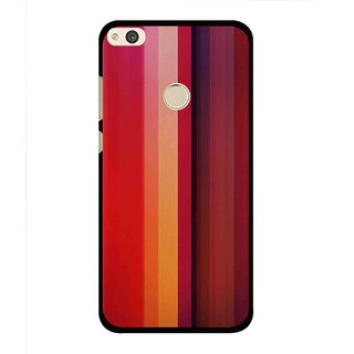 Snooky Printed Colorfull Stripes Mobile Back Cover For Huawei Honor 8 Lite - Multi