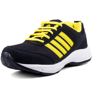 PAN Blue & Yellow Running Shoes