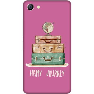 Print Opera Hard Plastic Designer Printed Phone Cover for vivo x7plus Happy journey bags with pink background