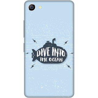 Print Opera Hard Plastic Designer Printed Phone Cover for vivo x7plus Dive into the ocean