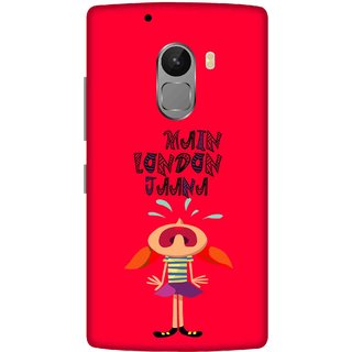 Print Opera Hard Plastic Designer Printed Phone Cover for lenovo a7010-vibek4note Main london Jana red background