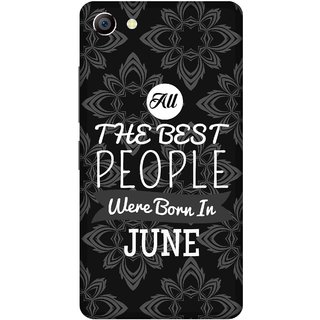 Print Opera Hard Plastic Designer Printed Phone Cover for vivo x7plus Best people are born in june