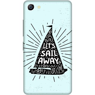 Print Opera Hard Plastic Designer Printed Phone Cover for vivo x7plus Let's sail away