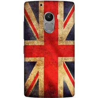 Print Opera Hard Plastic Designer Printed Phone Cover for lenovo a7010-vibek4note UK flag grunge