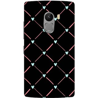 Print Opera Hard Plastic Designer Printed Phone Cover for lenovo a7010-vibek4note Hearts