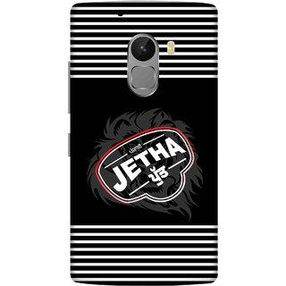 Print Opera Hard Plastic Designer Printed Phone Cover for lenovo a7010-vibek4note Jetha putt black and white design