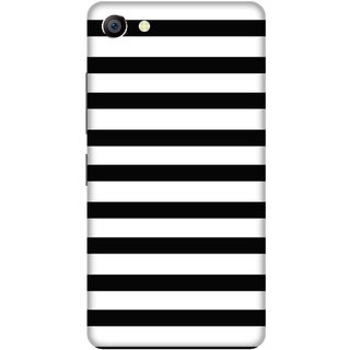 Print Opera Hard Plastic Designer Printed Phone Cover for vivo x7plus Black and white pattern