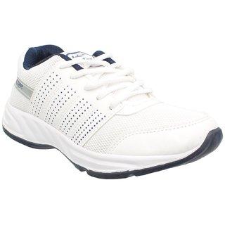 Buy Lancer Men's White Sports Shoes