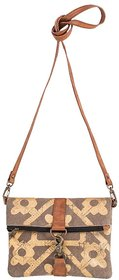 Mona B  Up-Cycled Canvas  Mosaic Crossbody 9 Wide x 8 Tall x 2D