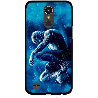 Snooky Printed Blue Hero Mobile Back Cover For LG K10 2017 - Multi