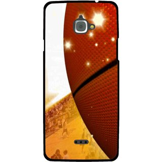 Snooky Printed Basketball Club Mobile Back Cover For Infocus M350 - Multi