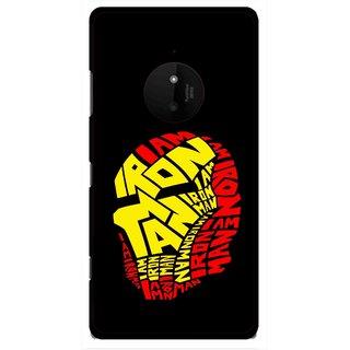 Snooky Printed I am Man Mobile Back Cover For Microsoft Lumia 830 - Multi