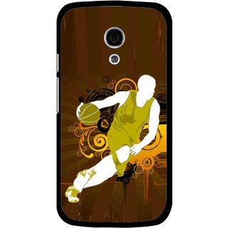 Snooky Printed Chamoins wins Mobile Back Cover For Moto G2 - Multi