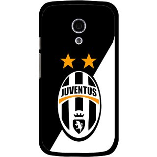 Snooky Printed Football Club Mobile Back Cover For Moto G2 - Multi