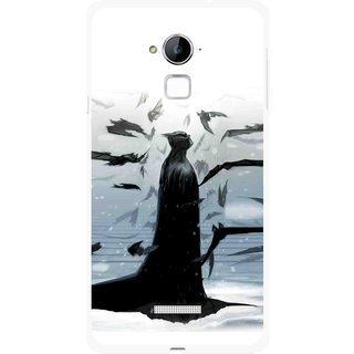 Snooky Printed Black Bats Mobile Back Cover For Coolpad Note 3 - Multi