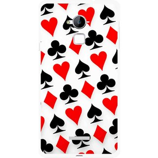 Snooky Printed Playing Cards Mobile Back Cover For Coolpad Note 3 - Multi