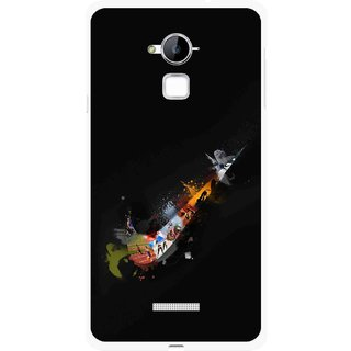 Snooky Printed All is Right Mobile Back Cover For Coolpad Note 3 - Multi