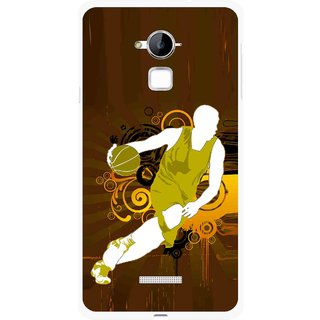 Snooky Printed Chamoins wins Mobile Back Cover For Coolpad Note 3 - Multi