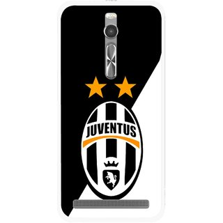 Snooky Printed Football Club Mobile Back Cover For Asus Zenfone 2 - Multi