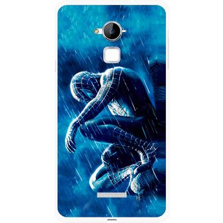 Snooky Printed Blue Hero Mobile Back Cover For Coolpad Note 3 - Multi