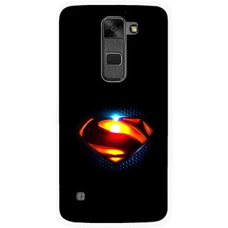 Snooky Printed Super Hero Mobile Back Cover For Lg Stylus 2 - Multi