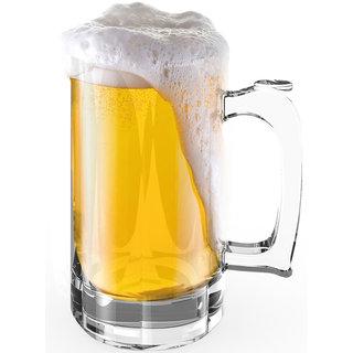 Stallion Barware Unbreakable Hurricane Beer Glass - 510ml (Pack of 2)
