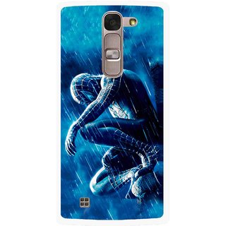 Snooky Printed Blue Hero Mobile Back Cover For Lg Magna - Multi