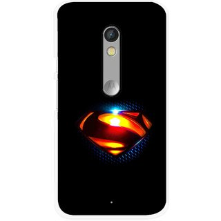 Snooky Printed Super Hero Mobile Back Cover For Motorola Moto X Play - Multi