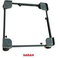 SARAH Adjustable Dual Top Loading Semi / Fully Automatic Washing Machine Trolley  107