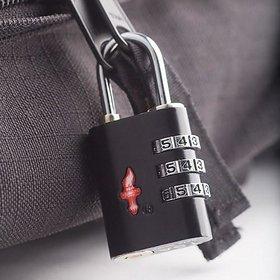 Tuzech TSA Travel Sentry 3-Dial Luggage Lock With Red Indicator ( ORIGINAL)