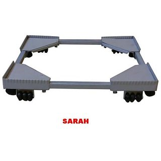SARAH Adjustable Front Loading Fully Automatic Washing Machine Trolley - F-101