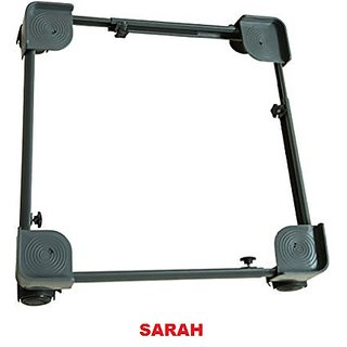 SARAH Adjustable Dual Top Loading Semi / Fully Automatic Washing Machine Trolley -107