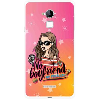 Snooky Printed No Boyfriend Mobile Back Cover For Coolpad Note 3 - Multi