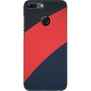 Coberta Case Designer Printed Back Cover For Huawei Honor 9 Lite - Retro Color Shapes Design