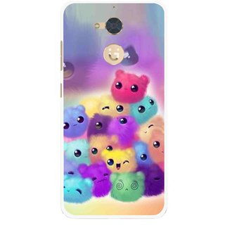Snooky Printed Cutipies Mobile Back Cover For Gionee S6 Pro - Multi