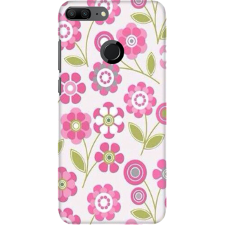 Coberta Case Designer Printed Back Cover For Huawei Honor 9 Lite - Vintage Floral Pattern Design