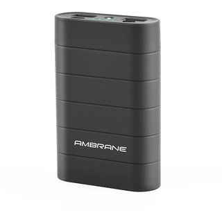 Ambrane Knockout K3 10050mAh Power Bank Black